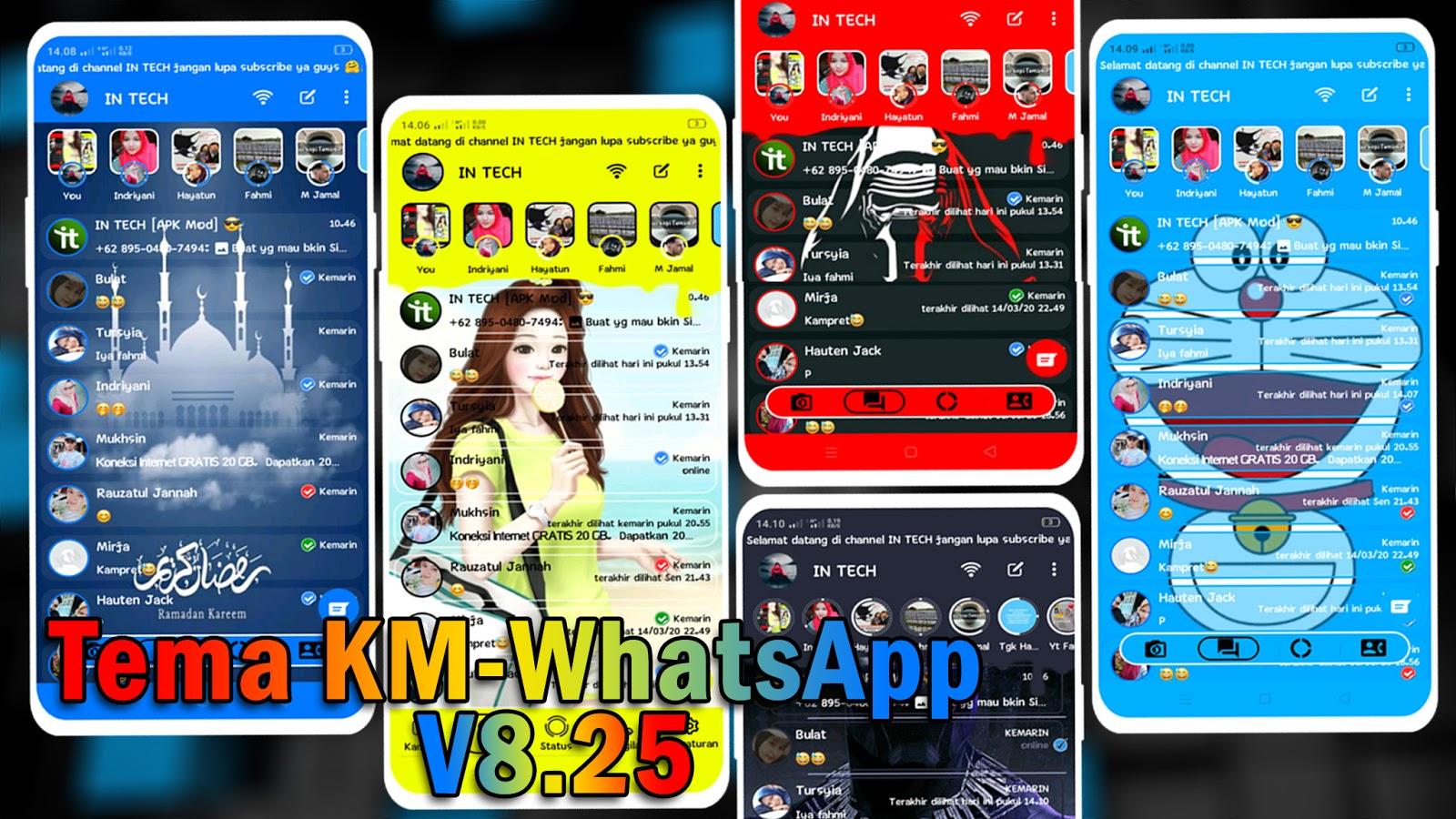 Download Tema KM WhatsApp v8.25 Update Tampilan Terbaru ...