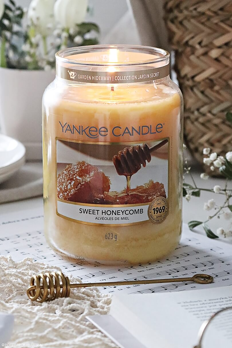 yankee candle sweet honeycomb nowość 2020