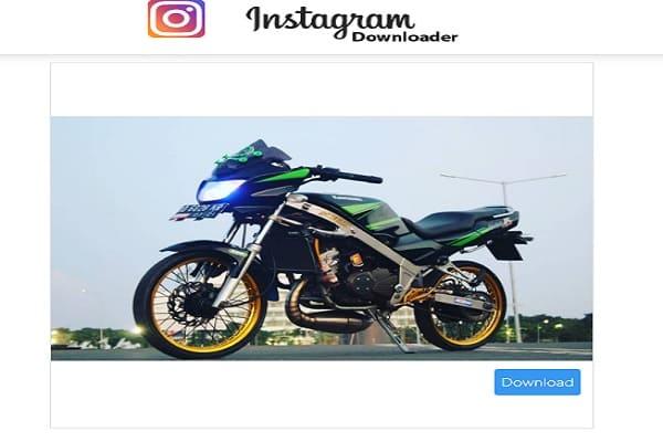 cara simpan gambar instagram ke galeri