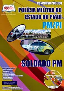 Apostila Polícia Militar do Piauí (PM/PI) novo concurso público 2017 para Soldado PM-PI