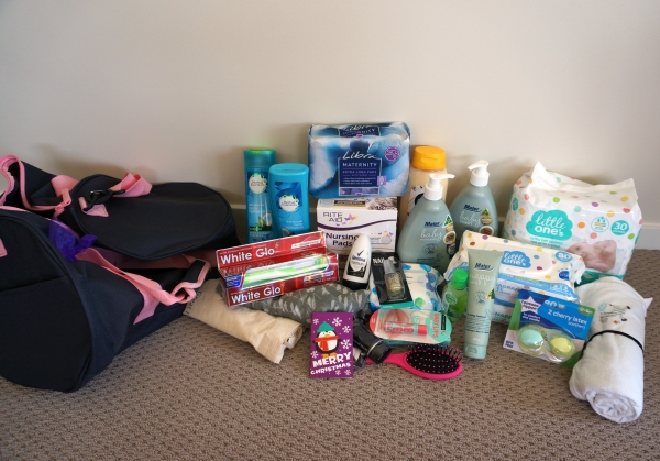 It's In The Bag Christmas Campaign Share the Dignity Nappy Bag | awayfromblue blog