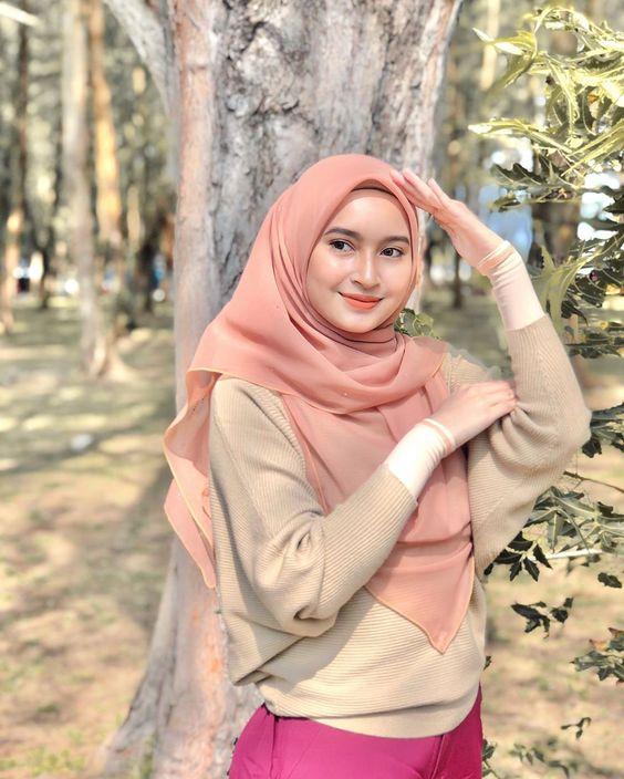 Temperatur dingin di kota Bandung jadi alasan cewek bandung cantik
