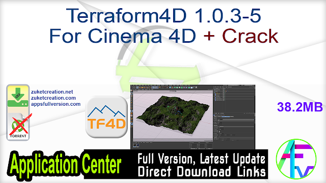 Terraform4D 1.0.3-5 For Cinema 4D + Crack