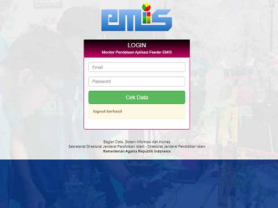http://emisdep.kemenag.go.id/madrasah_emis/monitor/ Website Monitoring Feeder EMIS