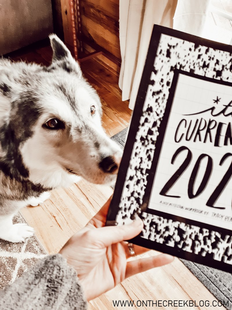 Happy New Year!  It's Currently 2020 workbook! | On The Creek Blog
