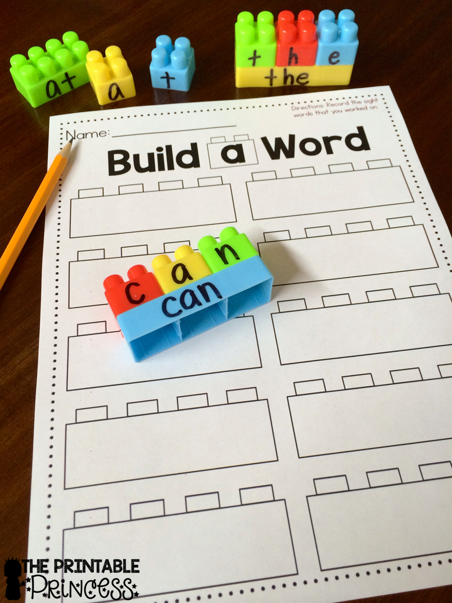 graphic relating to Sight Word Games Printable known as Acquire a Sight Phrase (as well as recording sheet) The Printable