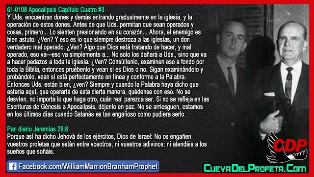 No se arriesguen estamos en los últimos días - William Marrion Branham en Español
