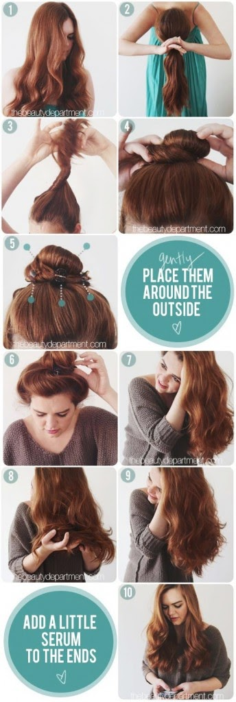 Easy Overnight Hairstyles Natural Hairstyles Haircuts 2015