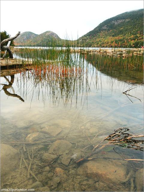 Jordan Pond en el Parque Nacional Acadia, Maine