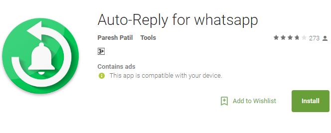 Auto-reply