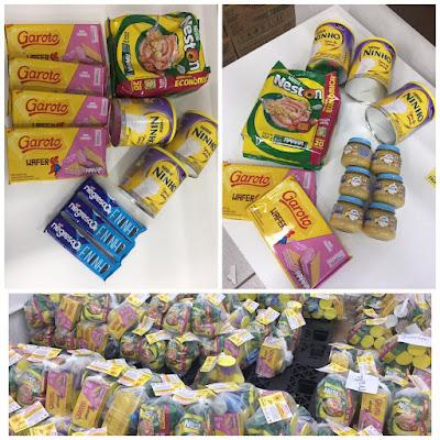 Prefeitura de Miracatu entrega de kits de alimentos Nestlé