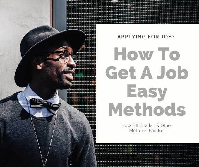 How To Get A Job Easy Methods 2020
