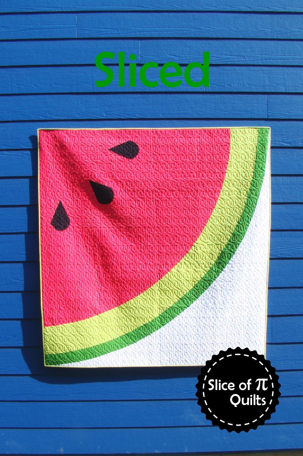 Slice of Pi Quilts: Sliced : watermelon quilt pattern - Adamdwight.com