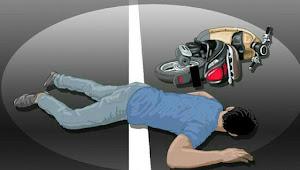Satu Keluarga Kecelakaan Sepeda Motor di Bandung, Ayah dan Anak Tewas