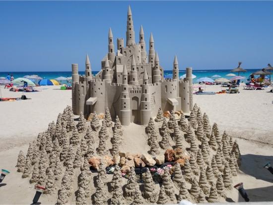 Cele mai tari castele de nisip