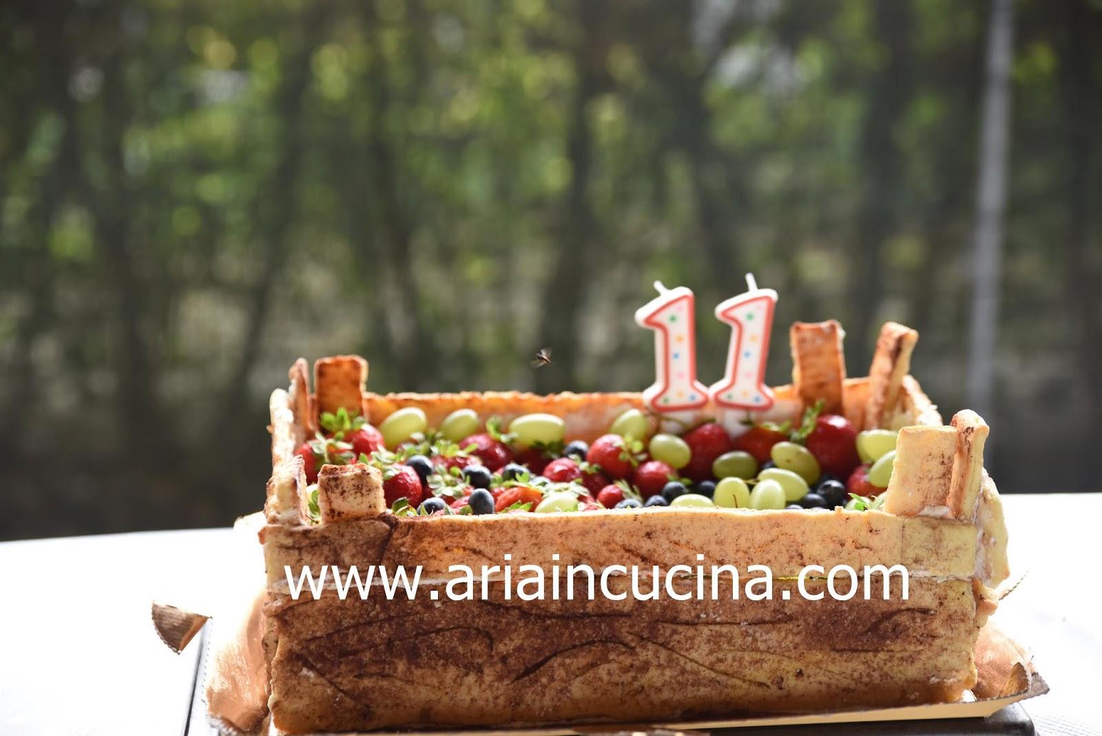 Cosa Cucinare Ad Agosto blog di cucina di aria: torta cassetta di frutta per gli 11