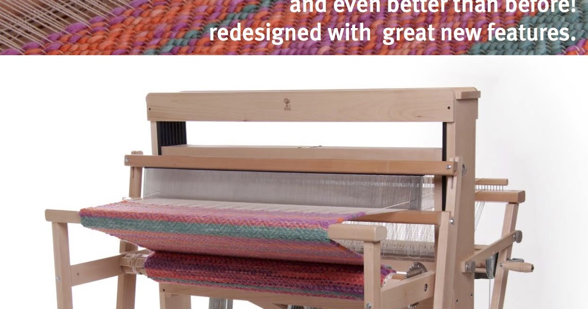 Boutique Blog: The Ashford Jack Loom - Coming in April 2017!