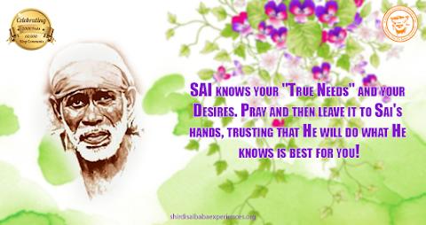 Sai's Hands - Sai Baba Face Painting Image