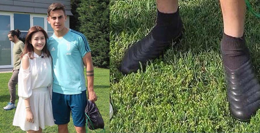 sale retailer 63f64 39e7f A month ago Paulo Dybala was spotted wearing one of the most unusual pieces  of football footwear ever seen on this site before. What exactly he was  wearing ...