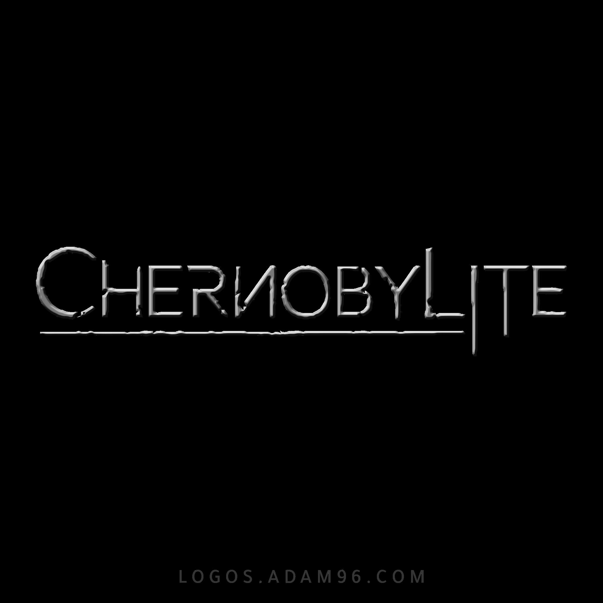 تحميل شعار لعبة الخيال العلمي Chernobylite لوجو عالي الدقة بصيغة PNG