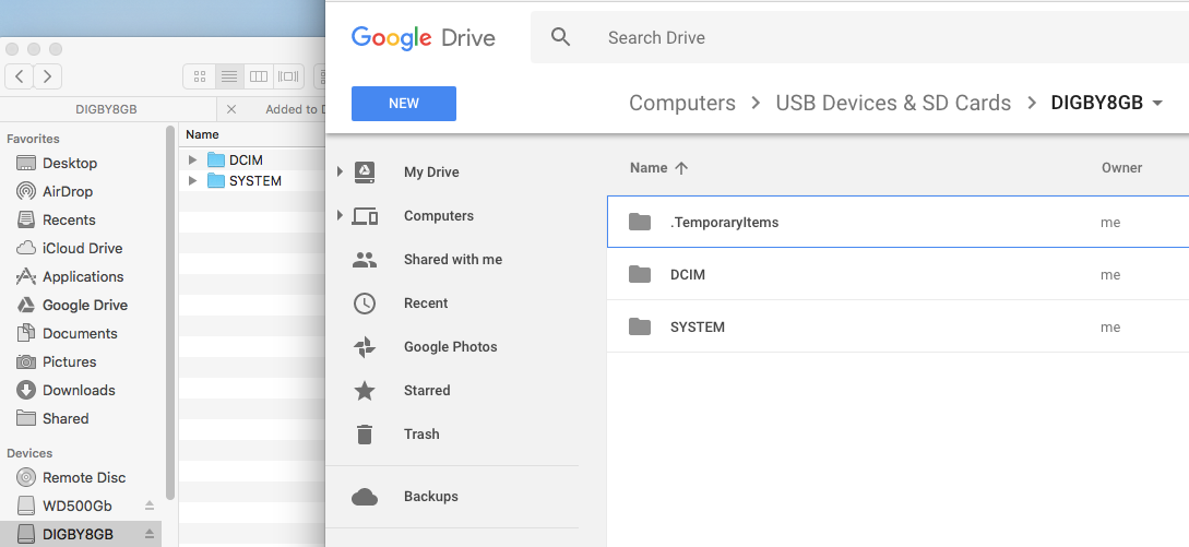 Digbys Help: Google Backup & Sync - What it does and doesn't