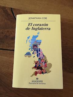 El corazón de Inglaterra. Reseña del libro de Jonathan Coe.