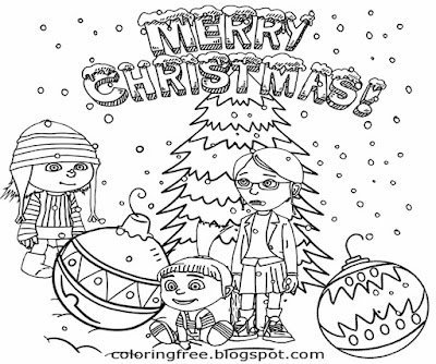 coloring minion pages with santa - photo#42