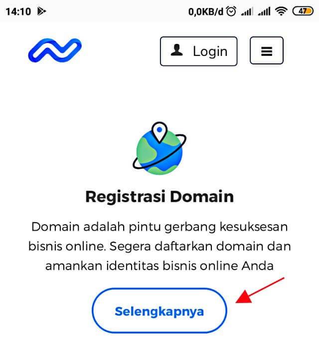 Registrasi Domain