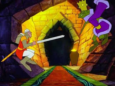 Dragon's Lair: il laser game versione arcade