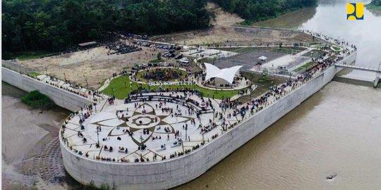 Bendung Kamijoro Yang Kini Menjadi Destinasi Wisata