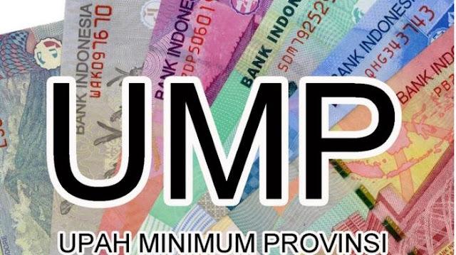 Besarnya UMP Tahun 2020 di 34 Provinsi Termasuk Bangka Belitung