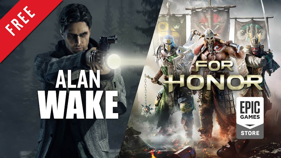 alan wake for honor free pc game epic games store remedy entertainment ubisoft