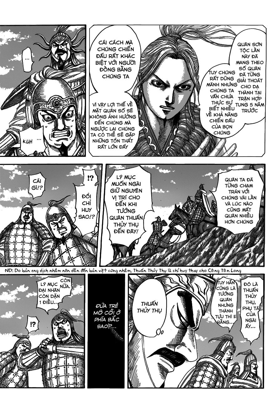 Kingdom chapter 518: chiến địa liêu dương trang 4