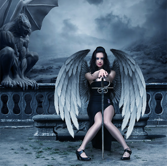 The Fallen Angel – Photoshop Tutorial