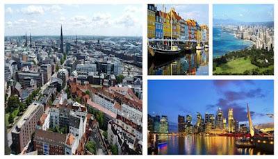 10 Kota Terbersih Dan Terhijau Di Dunia 2016