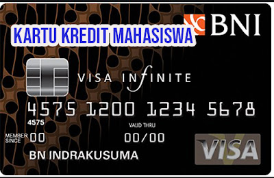 Kartu Kredit BNI Untuk Mahasiswa