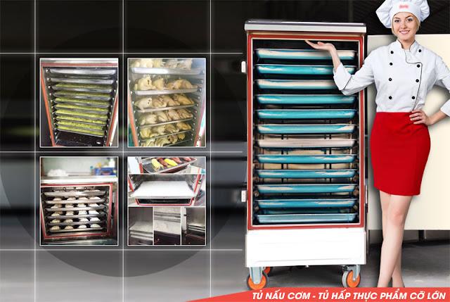 Tủ nấu cơm giá rẻ - Tủ hấp công nghiệp