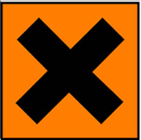 Simbol Bahan Kimia Iritasi
