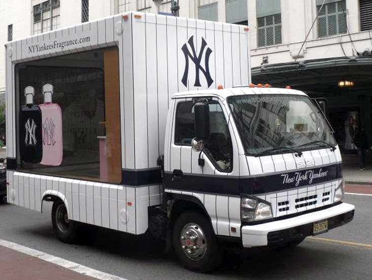 If It's Hip, It's Here (Archives): New York Yankees Pitch Their ...