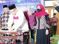 Rektor UIN Maliki Resmikan Gedung Prof. Dr. H. Moh. Koesnoe, SH