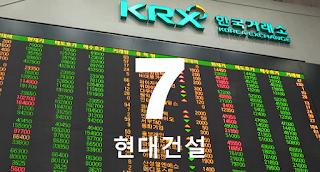 7 우량주 주식 투자방 : KRX:000720 현대건설 주가 전망 투자 전략