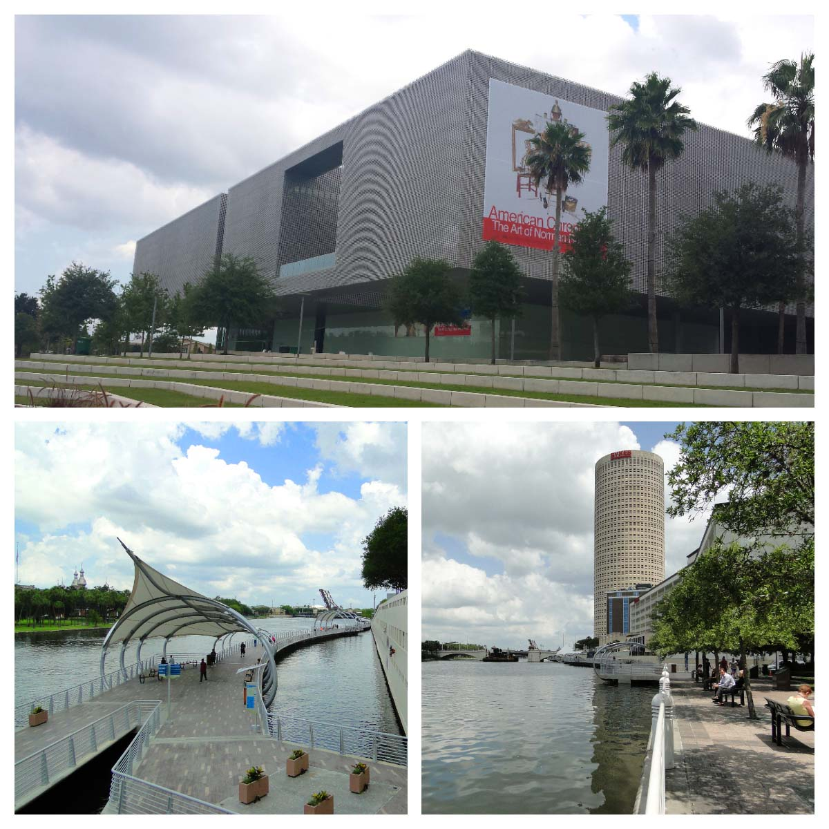 Riverwalk em Tampa, EUA