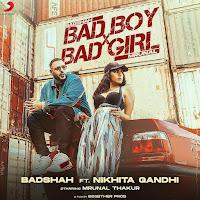BADSHAH BAD BOY X BAD GIRL