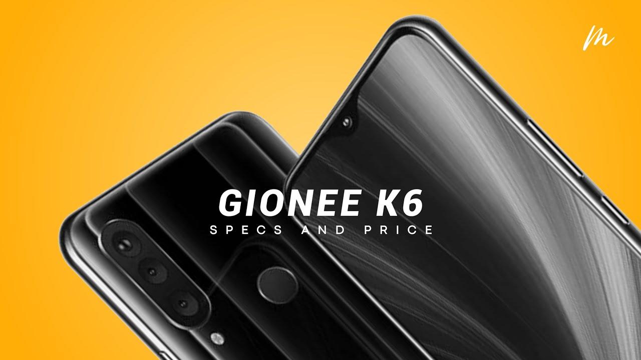 Gionee k6