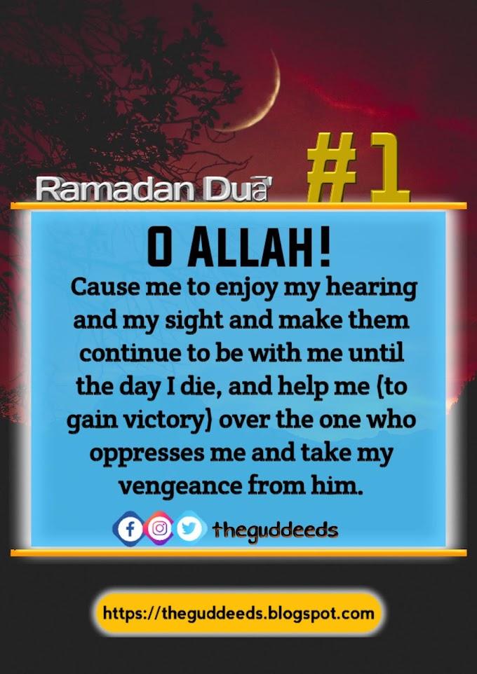 Best and Beautiful Ramadan Dua / Prayer and Supplications For All Needs l Theguddeeds