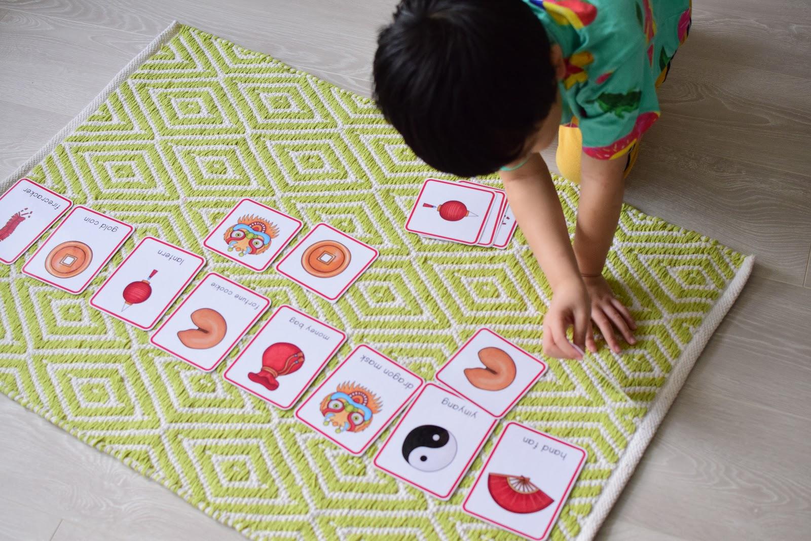 Chinese New Year Mini Preschool Unit