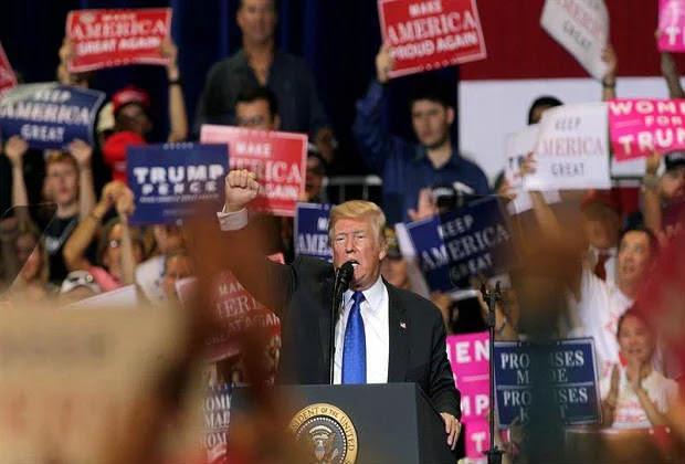 Trump: No permitiré que EEUU se convierta en la próxima Venezuela