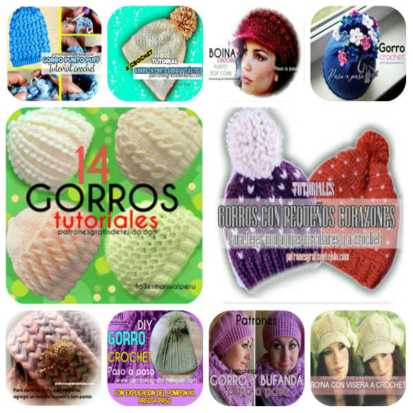 15-tutoriales-gorros-crochet