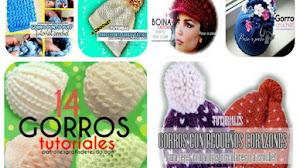 14 Tutoriales de Gorros Tejidos a Crochet 👒