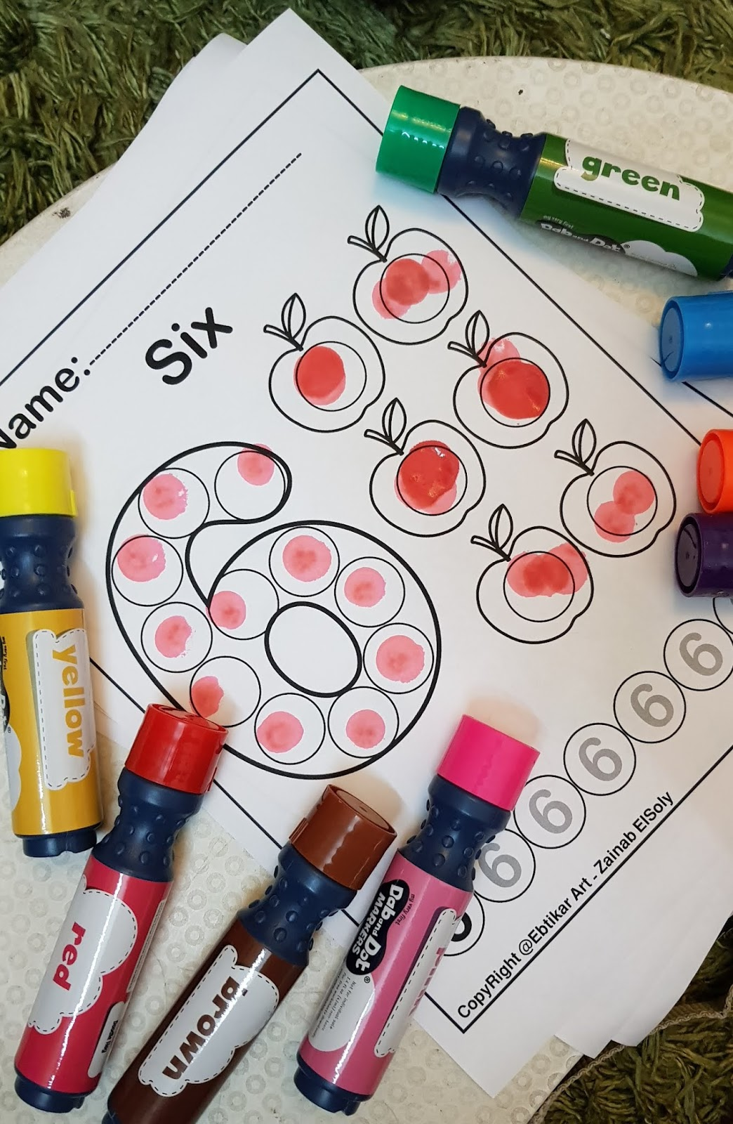 Dab And Dot Markers Review
